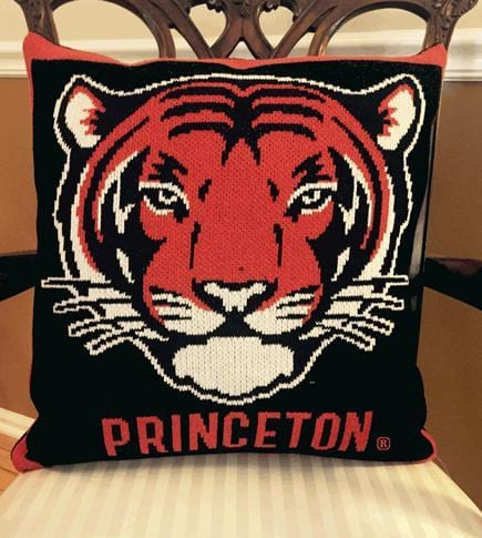 Princeton - Custom Made Comfort - Tiger Face - Pillow