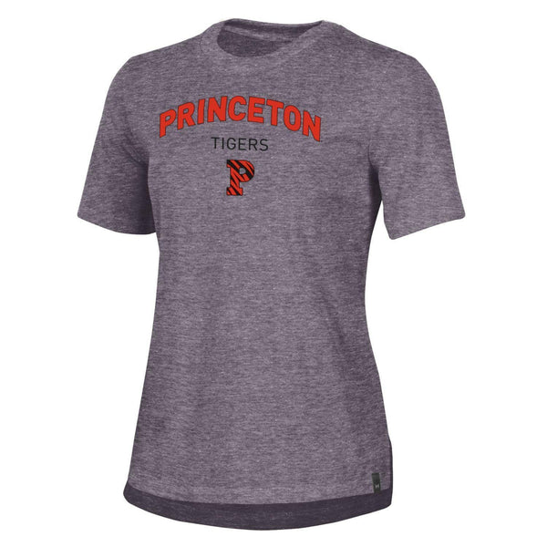 Under Armour Women's Charged Cotton Striped P Tee