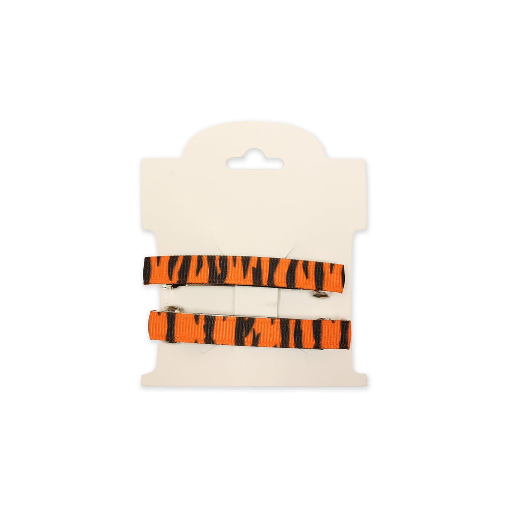 Tiger Stripe Barrettes