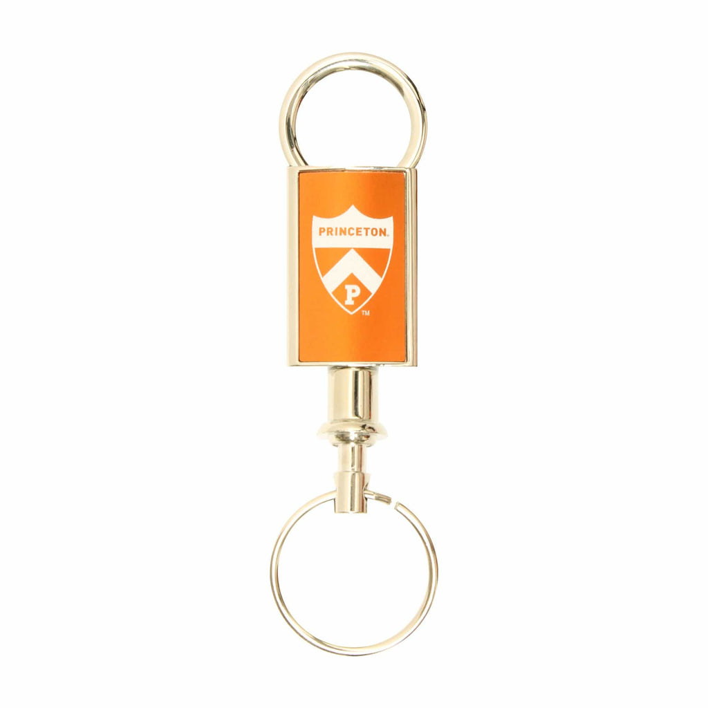 Princeton Valet Keychain Orange