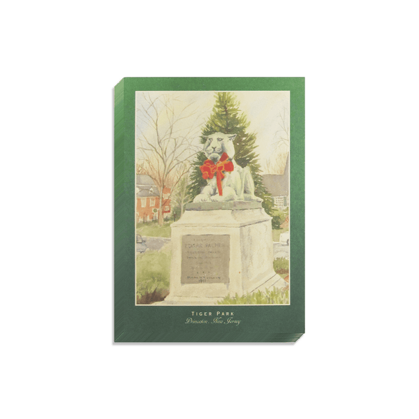 """Tiger Park"" Holiday Cards - 10 Pack"