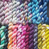 mini skein yarns rainbow