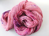 Be Mine - Hand dyed DK yarn 100g/225M superwash merino