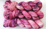 Be Mine - Hand dyed 4ply/sock yarn 100g/425m superwash merino, nylon blend