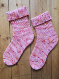 Crochet Pattern - Laverna Socks