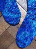 Crochet Pattern - Fallen Leaves Socks - PRINT copy