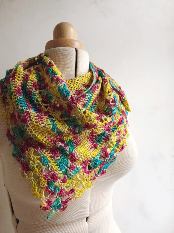 Crochet Pattern - Kaleidoscope Shawl