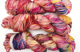 Sunset Beach  - Hand dyed DK yarn 100g/225M superwash merino