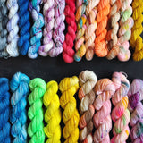 The Mini Skein Club : 3, 6 or 12 Box Subscription