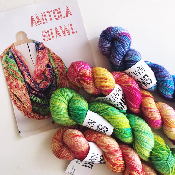 SALE - Amitola  - 200g shawl kit