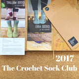 The Crochet Sock Club 2017 - Print Pattern Collection