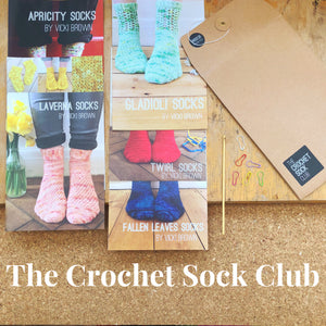 The Crochet Sock Club 2018 - Print Pattern Collection