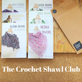The Crochet Shawl Club 2018 - Print Pattern Collection