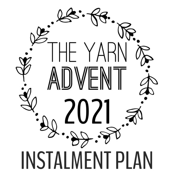 The Yarn Advent 2021 - Instalment Plan