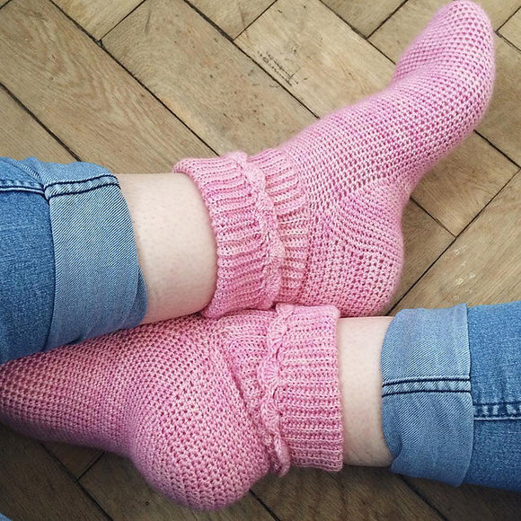 Crochet Pattern - Hop Socks