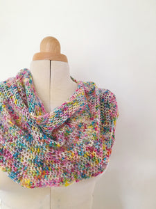 Crochet Pattern - Coco Shawl