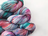 Vintage Christmas - Hand dyed 4ply/sock yarn 100g/425m superwash merino, nylon blend