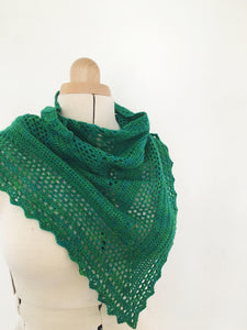 Crochet Pattern - Boo Shawl