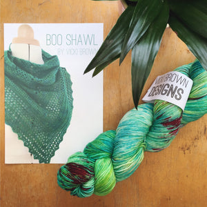 Crochet Pattern - Boo Shawl - PRINT copy