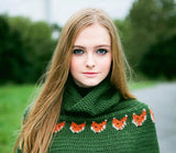 Crochet Pattern - Women's Foxy Cape