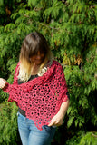 Crochet Pattern - Women's Jolene Shawl