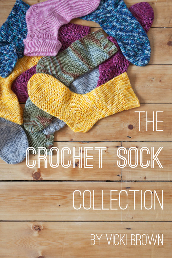 The Crochet Sock Collection - PDF COPY