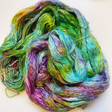Hendricks - Hand dyed - sock weight yarn - 100g/350m - Kid Silk Fluff