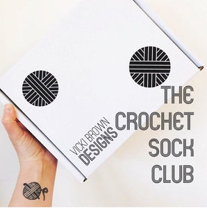 The Crochet Sock Club - 3 boxes