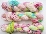 Pinkie Pie - Hand dyed DK yarn 100g/225M superwash merino