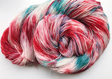 Who-Ville - Hand dyed - 4ply/sock yarn - 100g/400m - superwash merino - nylon - sparkle