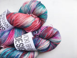Vintage Christmas - Hand dyed - 4ply/sock yarn - 100g/400m - superwash merino - nylon - sparkle
