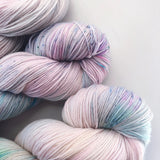 Moonshine - Hand dyed 4ply/sock yarn 100g/425m superwash merino, nylon blend