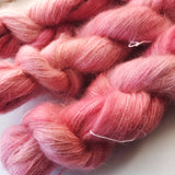 Gymnocalycium - Hand dyed - lace weight yarn - 50g/420m - kid mohair - silk