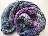Princess Luna - Hand dyed DK yarn 100g/225M superwash merino