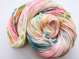 Electro Shuffle - Hand dyed Chunky Weight Yarn 100g/100m - superwash merino