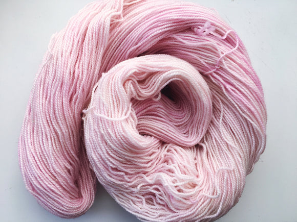 Blossom - Hand dyed - 4ply/sock yarn - 100g/400m - superwash merino - nylon - sparkle