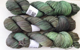 Hunter - Hand dyed 4ply/sock yarn 100g/425m superwash merino, nylon blend