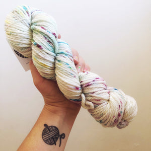 Coco - Hand dyed Chunky Weight Yarn 100g/100m - superwash merino