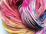 Sunset Beach - Hand dyed 4ply/sock yarn 100g/425m superwash merino, nylon blend