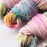 Barbie - Hand dyed Chunky Weight Yarn 100g/100m - superwash merino