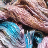 Dusk - Hand dyed - sock weight yarn - 100g/350m - Kid Silk Fluff