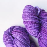 Violacea - Hand dyed Chunky Weight Yarn 100g/100m - superwash merino