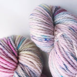 Moonshine - Hand dyed Chunky Weight Yarn 100g/100m - superwash merino