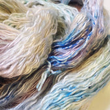 Moonshine - Hand dyed - sock weight yarn - 100g/350m - Kid Silk Fluff
