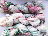 Mistletoe and Wine - Hand dyed 4ply/sock yarn 100g/425m superwash merino, nylon blend