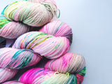 Best Mates - Hand dyed 4ply/sock yarn 100g/425m superwash merino, nylon blend