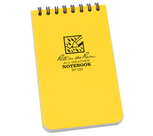 "3"" x 5"" All Weather Top Spiral Notebook"