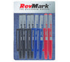 RevMark Bullet Tip Permanent Marker - Assorted Ink
