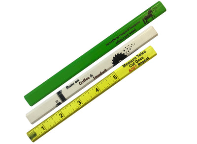 Novelty Carpenter Pencils  - 3 Pack