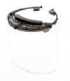 Premium Face Shield with Translucent Black Plastic Headpiece (Single)